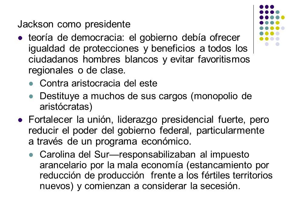 Jackson como presidente