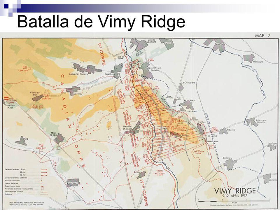 Batalla de Vimy Ridge