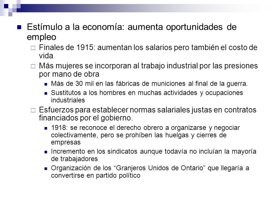 Estímulo a la economía: aumenta oportunidades de empleo
