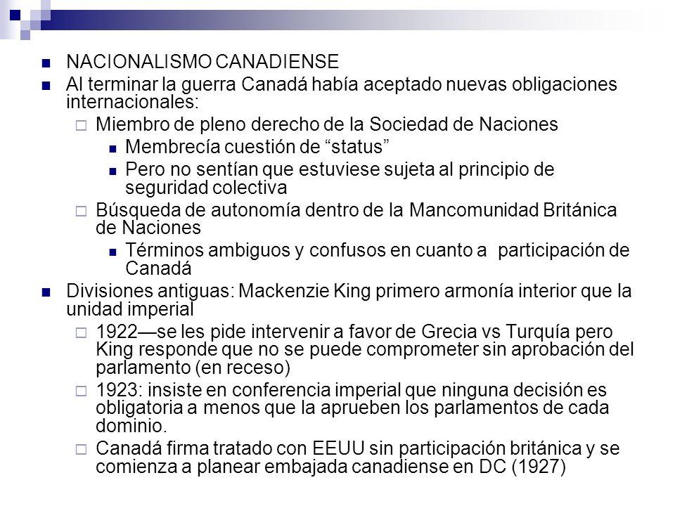 NACIONALISMO CANADIENSE