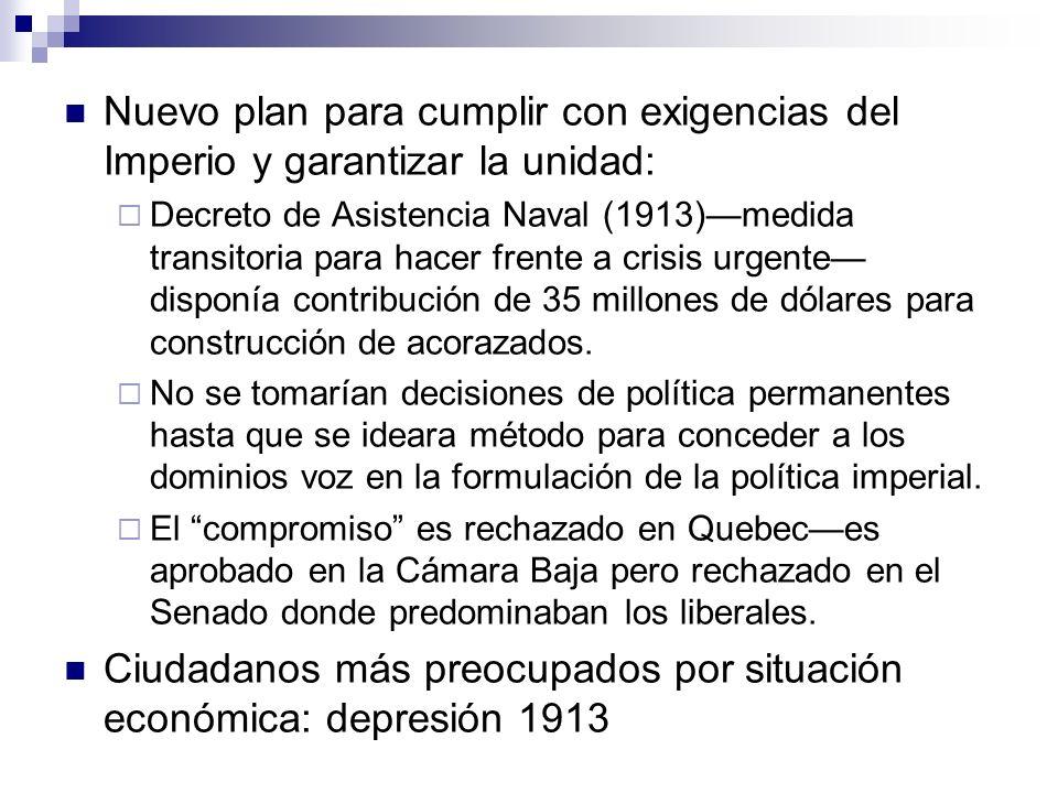 Ciudadanos más preocupados por situación económica: depresión 1913