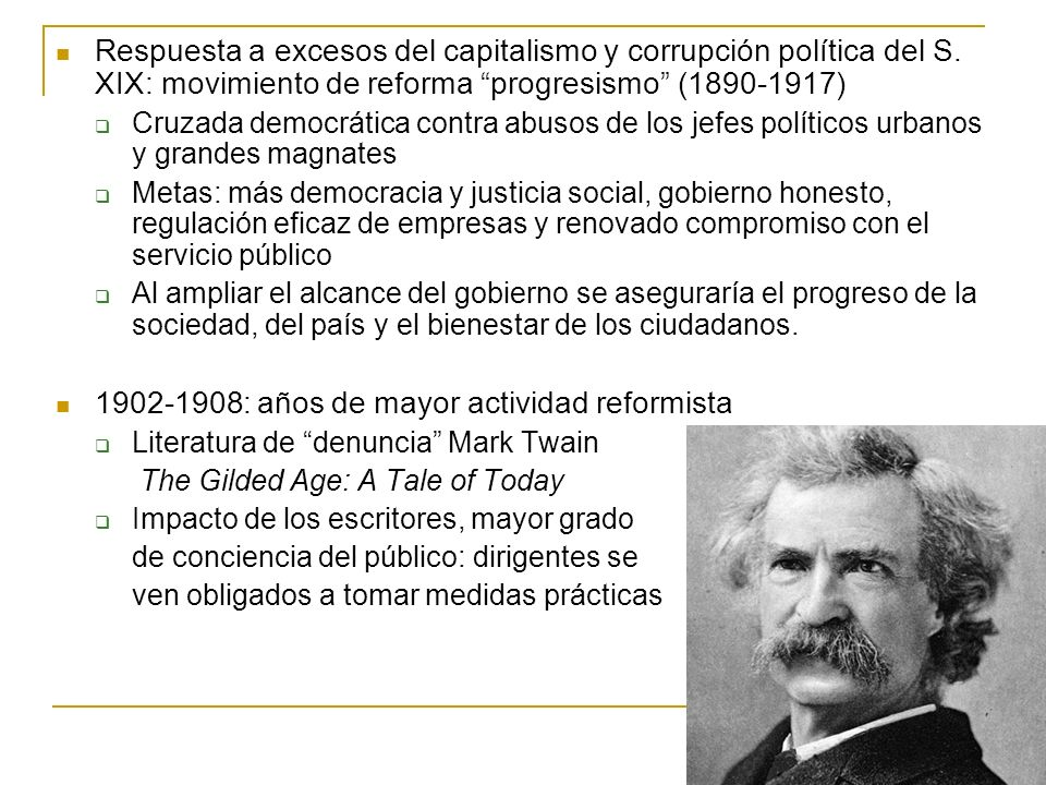 1902-1908: años de mayor actividad reformista