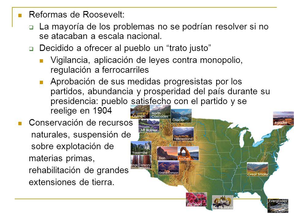 Reformas de Roosevelt: