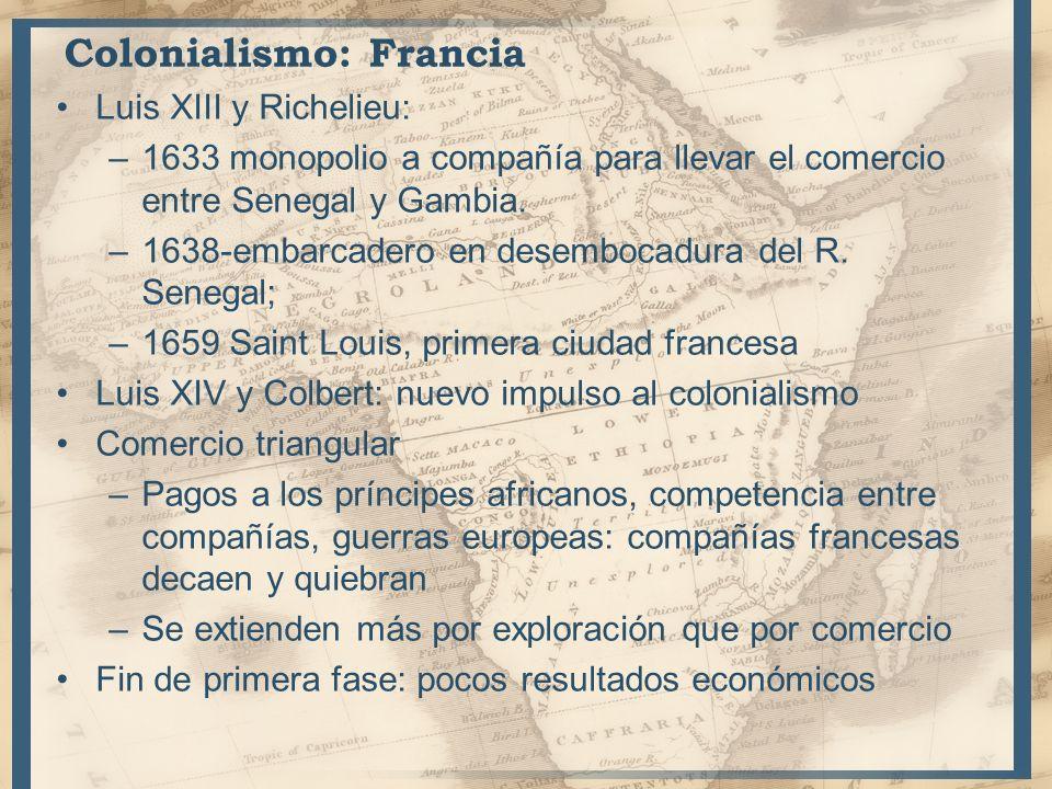 Colonialismo: Francia