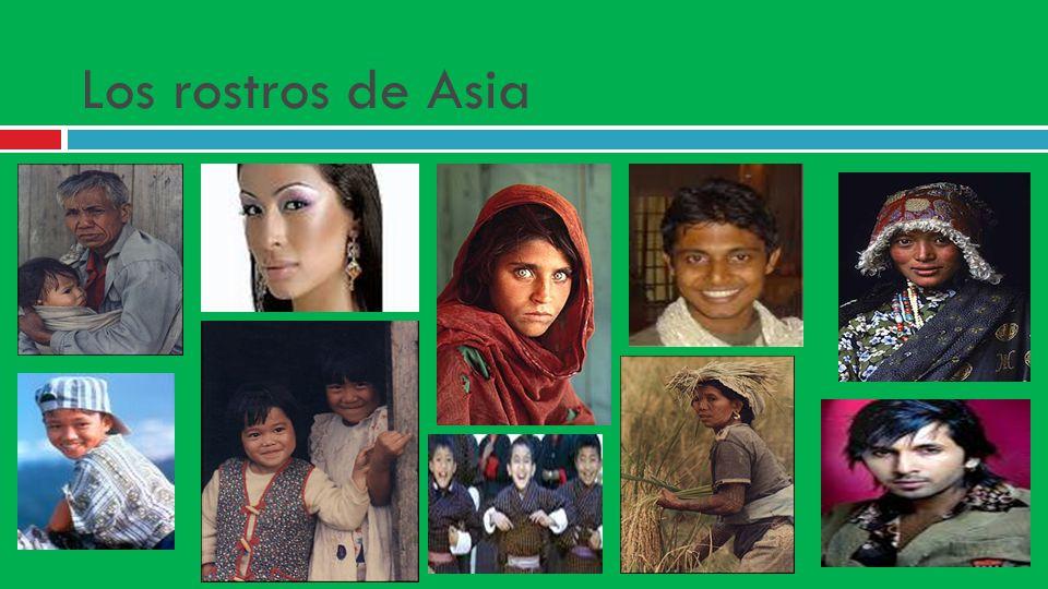 Los rostros de Asia