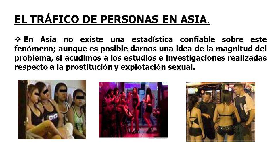EL TRÁFICO DE PERSONAS EN ASIA.
