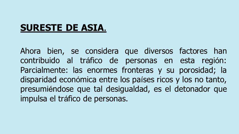SURESTE DE ASIA.