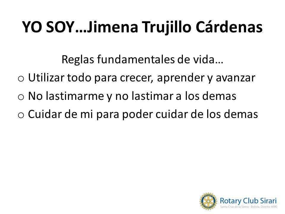 YO SOY…Jimena Trujillo Cárdenas