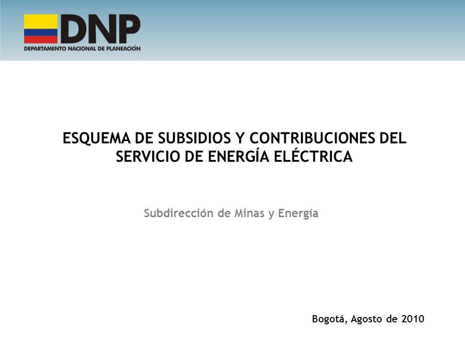 Subdirección de Minas y Energía