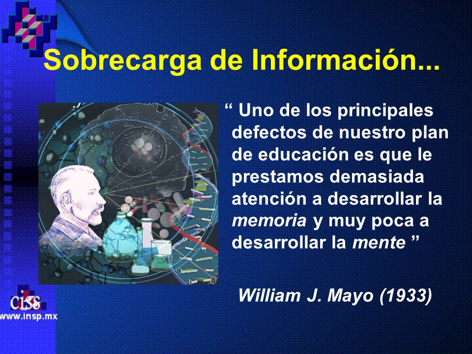 Sobrecarga de Información...