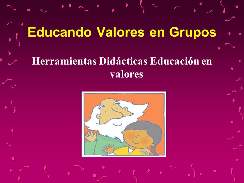 Educando Valores en Grupos