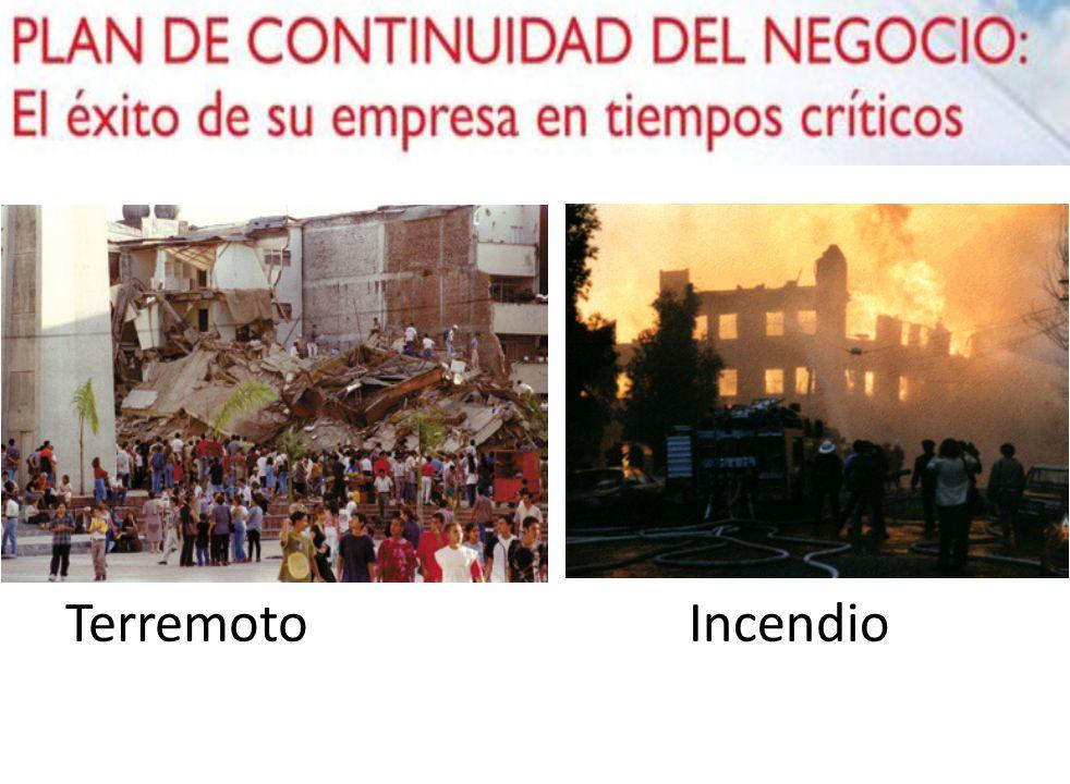 Terremoto Incendio