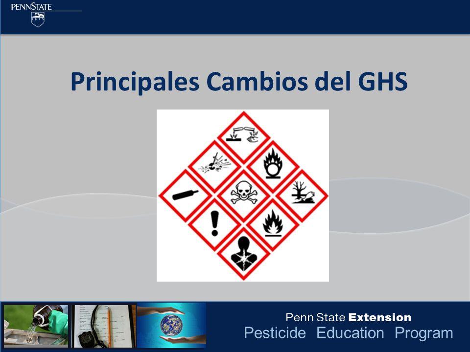 Principales Cambios del GHS