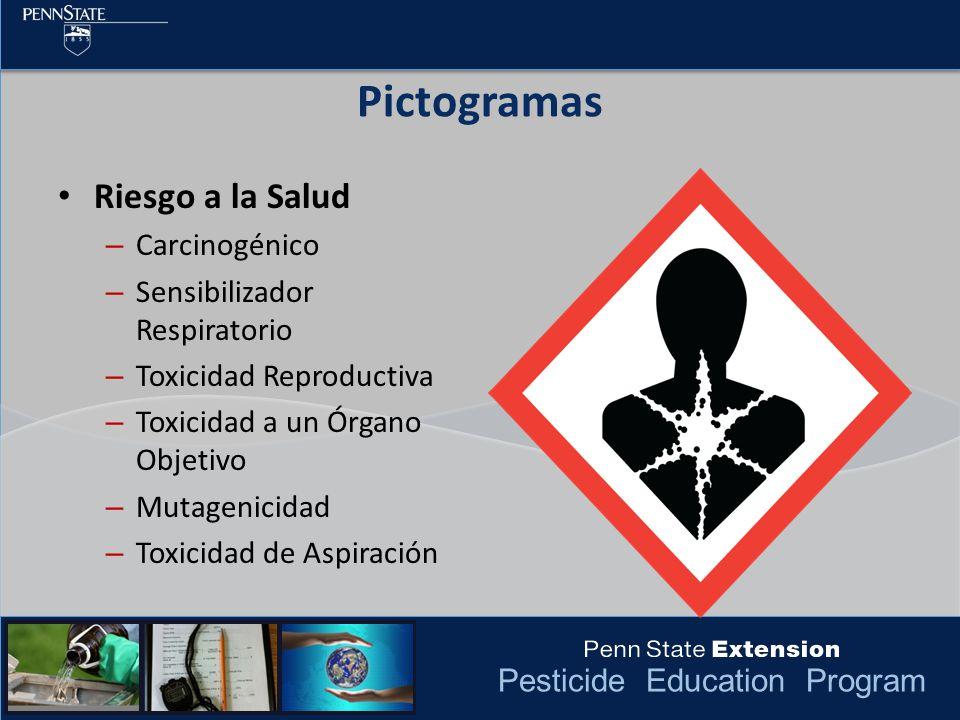 Pictogramas Riesgo a la Salud Carcinogénico