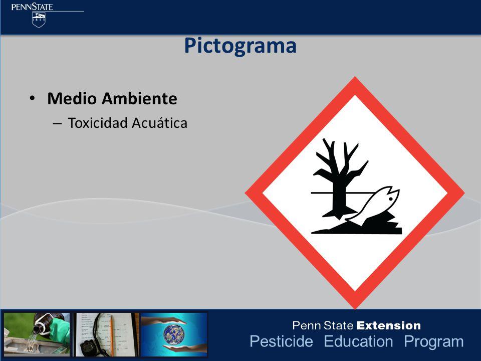 Pictograma Medio Ambiente Toxicidad Acuática