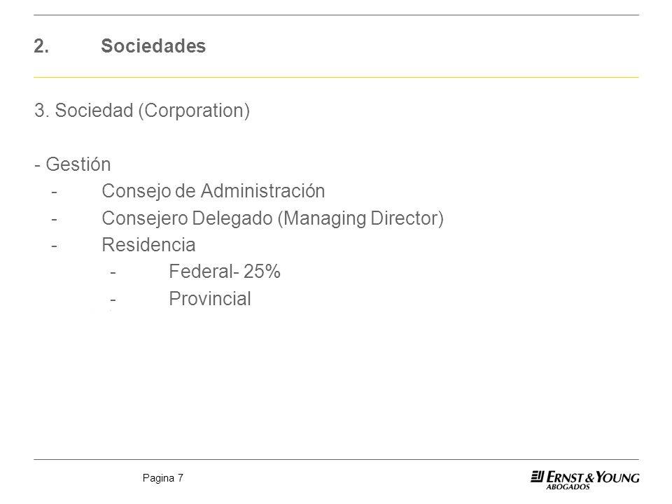 3. Sociedad (Corporation) - Gestión - Consejo de Administración
