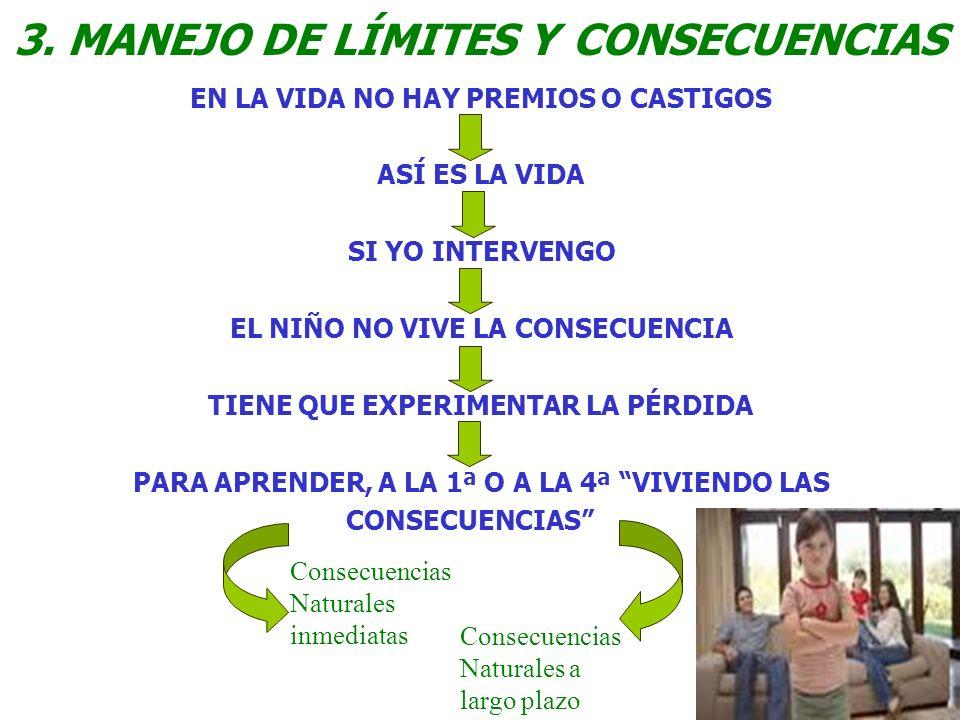 3. MANEJO DE LÍMITES Y CONSECUENCIAS