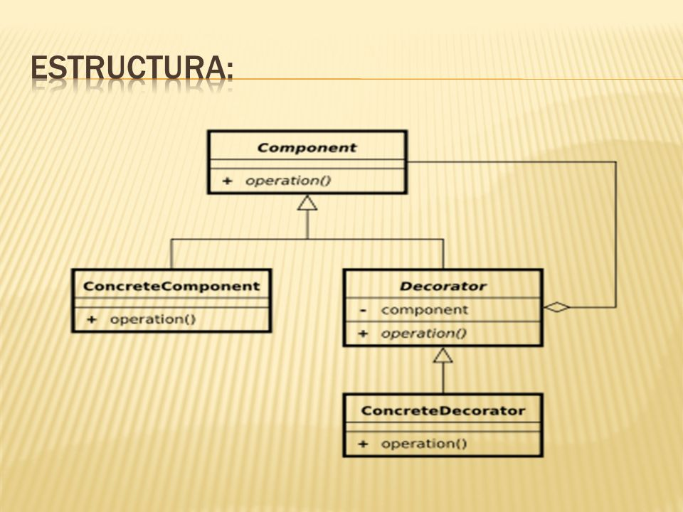 Estructura: