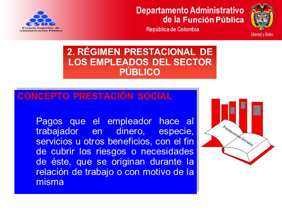 2. RÉGIMEN PRESTACIONAL DE LOS EMPLEADOS DEL SECTOR PÚBLICO