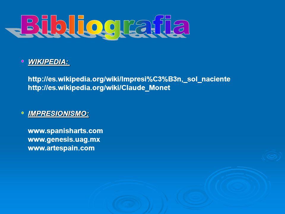 Bibliografia WIKIPEDIA: