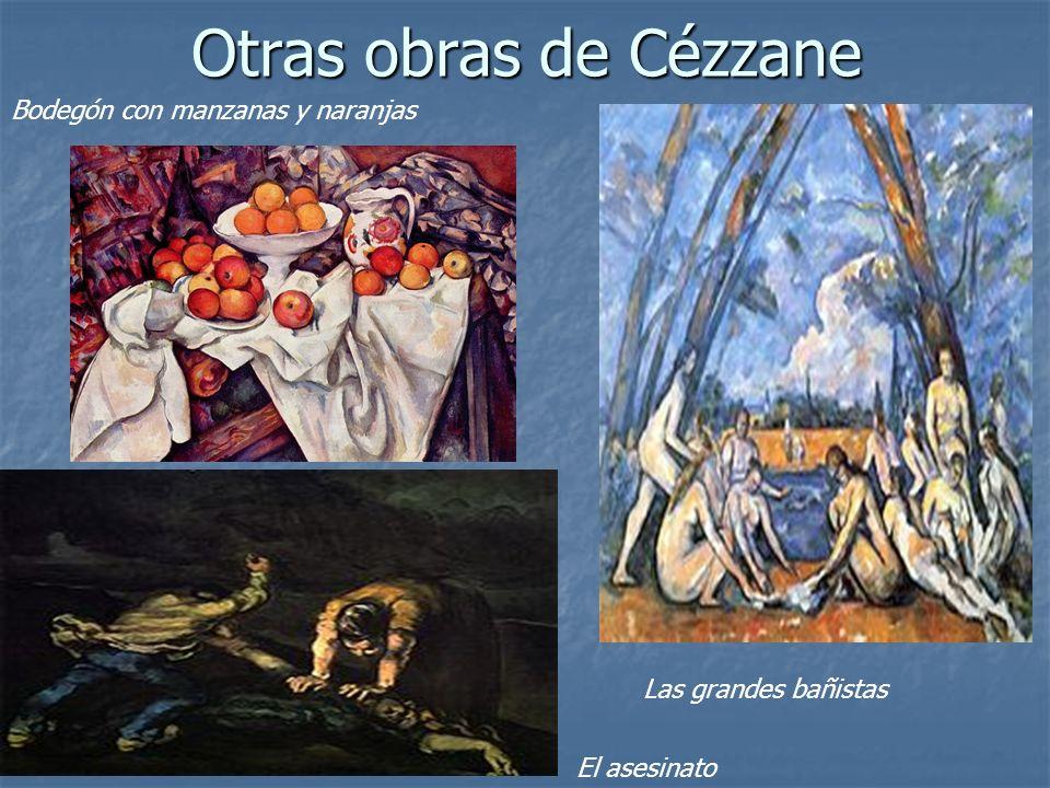Otras obras de Cézzane Bodegón con manzanas y naranjas