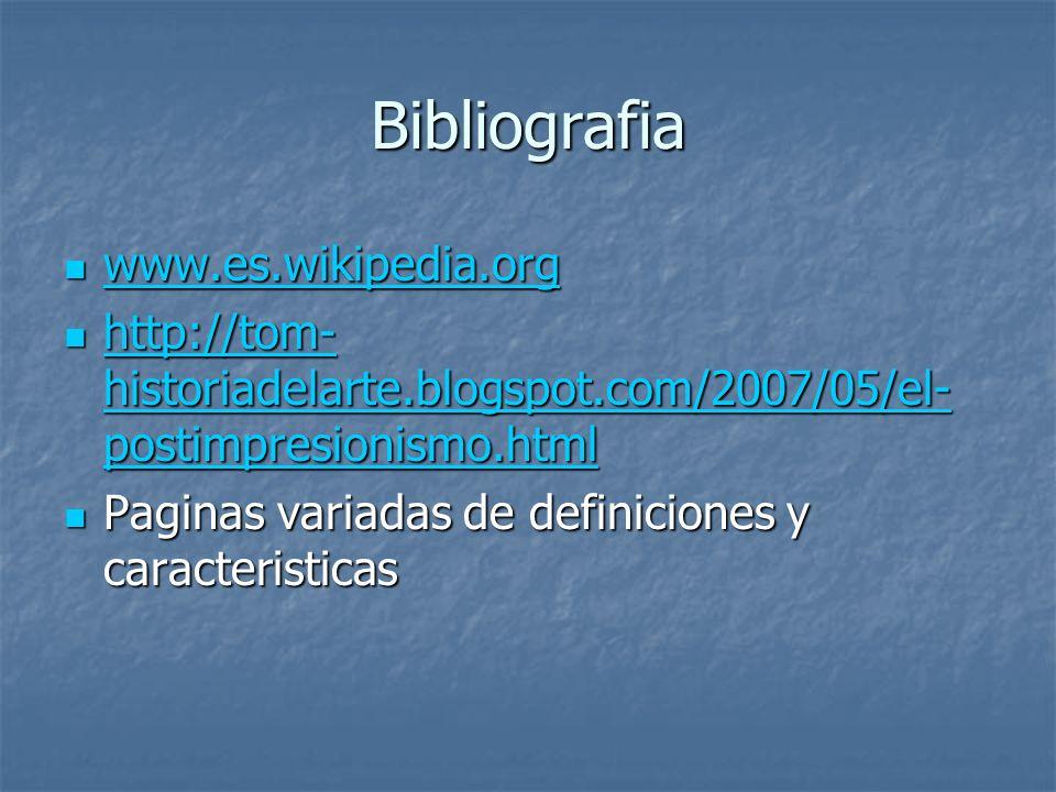 Bibliografia www.es.wikipedia.org