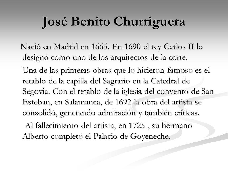 José Benito Churriguera