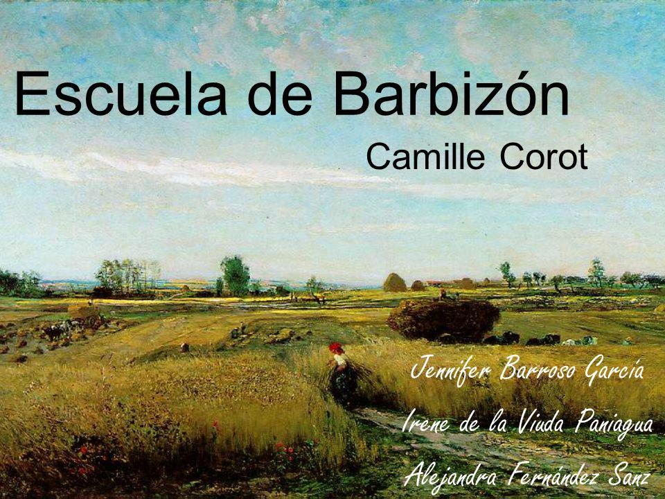 Escuela de Barbizón Camille Corot Jennifer Barroso García