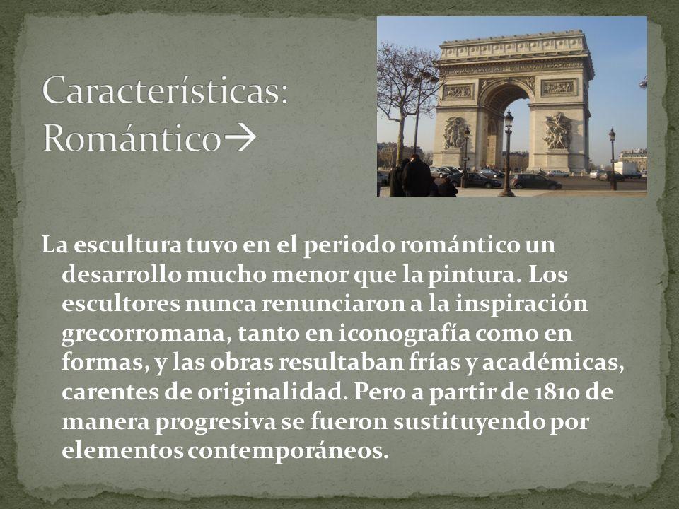 Características: Romántico