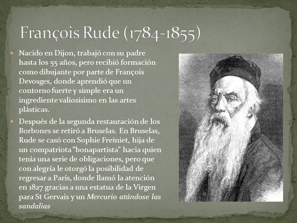François Rude (1784-1855)