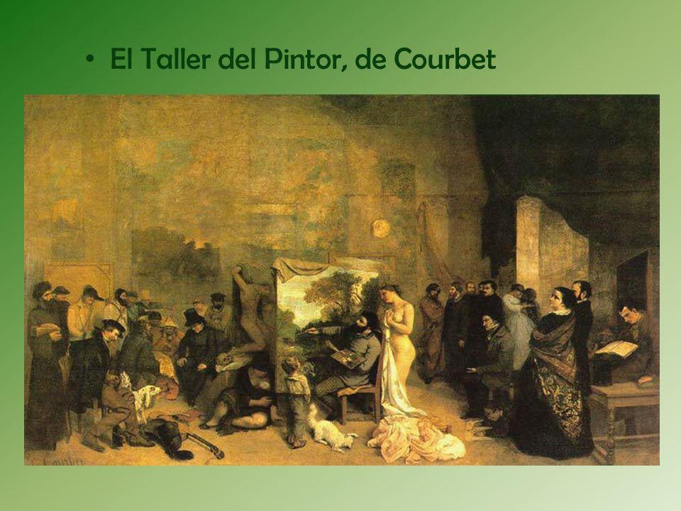 El Taller del Pintor, de Courbet