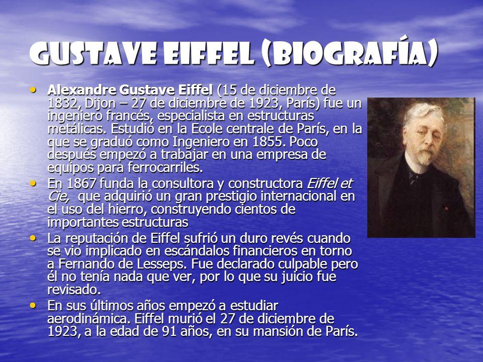 GUSTAVE EIFFEL (biografía)