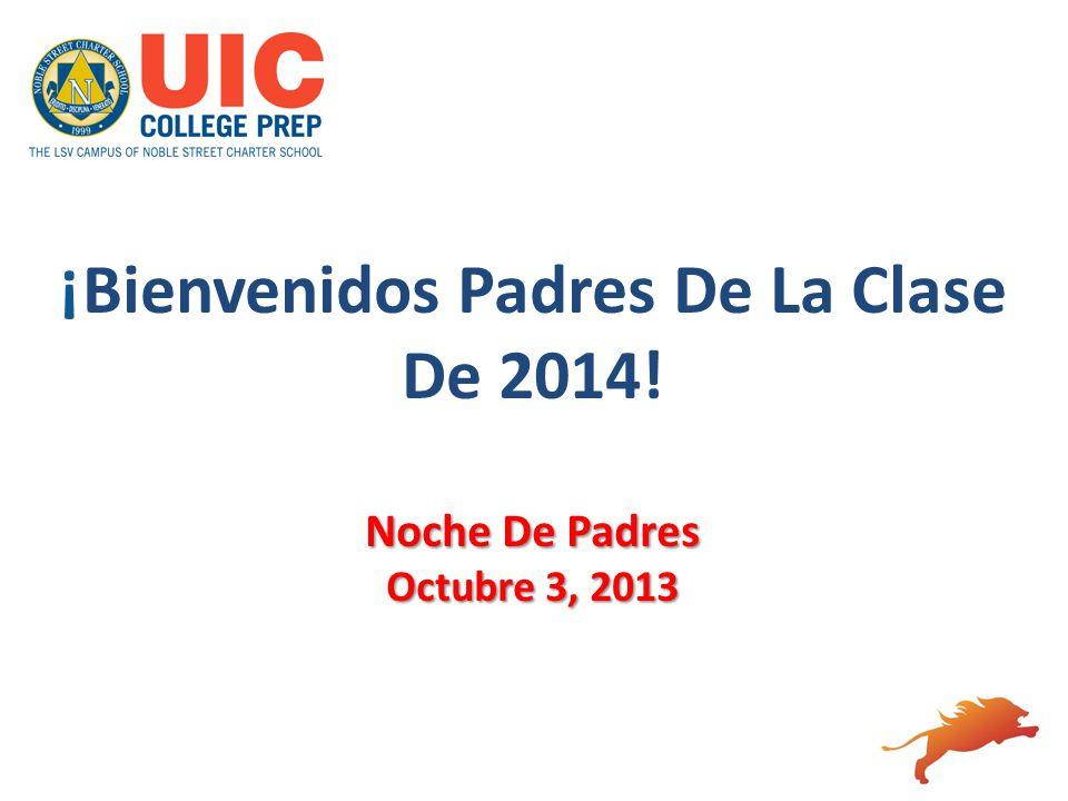 ¡Bienvenidos Padres De La Clase De 2014!