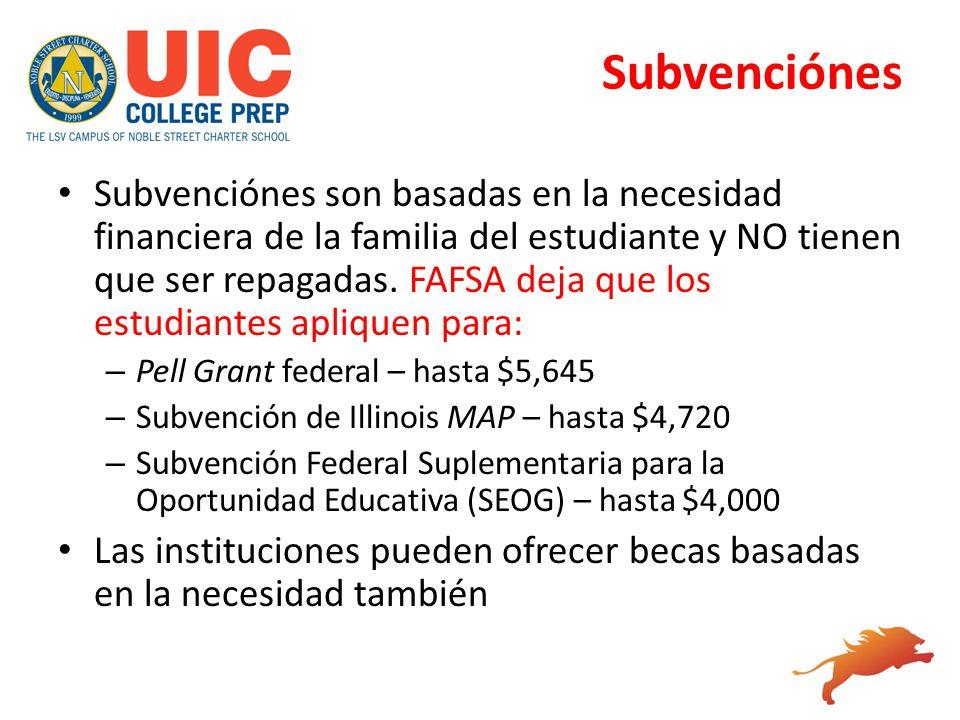 Subvenciónes