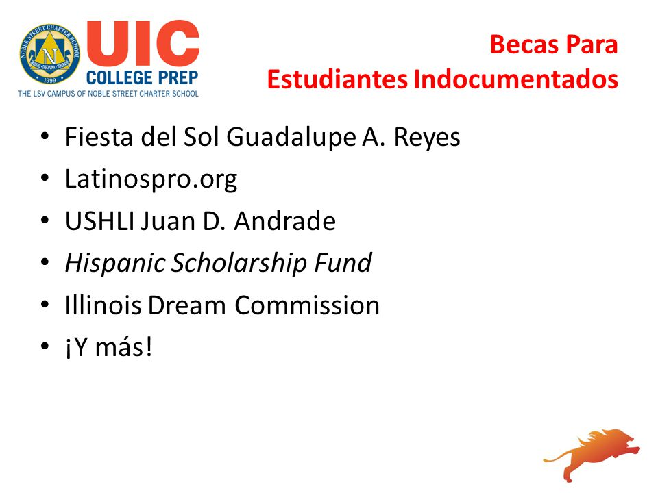 Becas Para Estudiantes Indocumentados