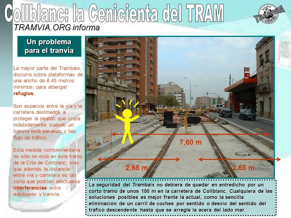 Un problema para el tranvía