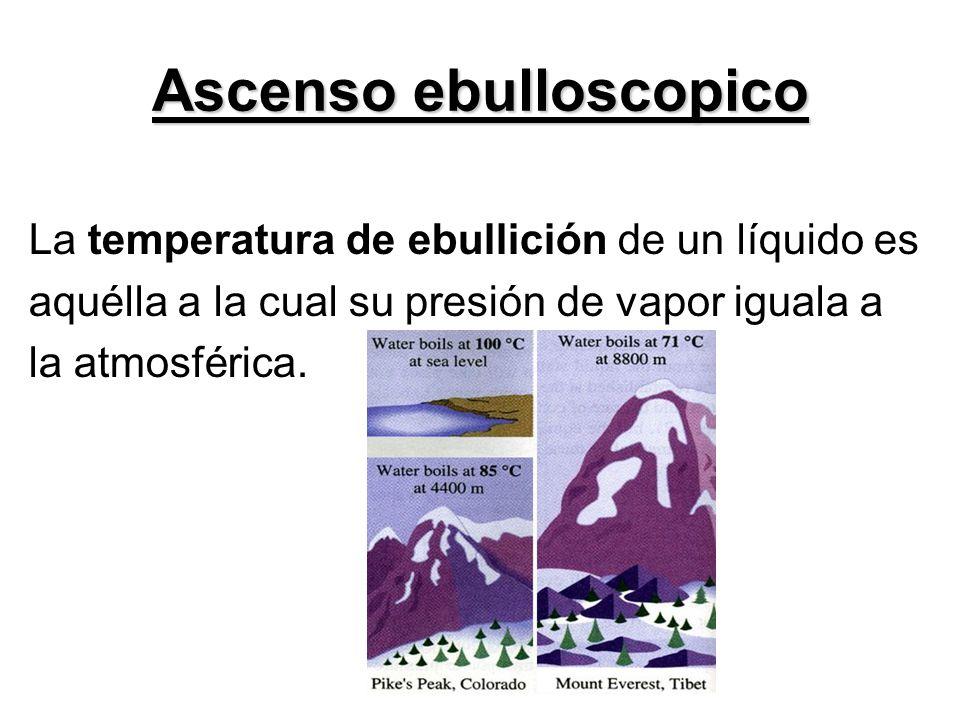Ascenso ebulloscopico