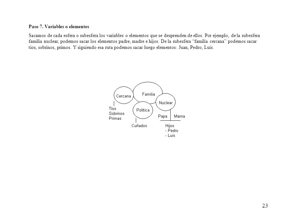 Paso 7. Variables o elementos