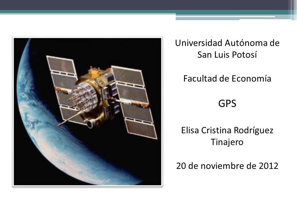 GPS Universidad Autónoma de San Luis Potosí Facultad de Economía