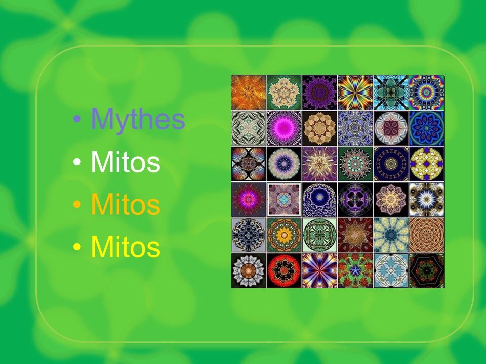 Mythes Mitos