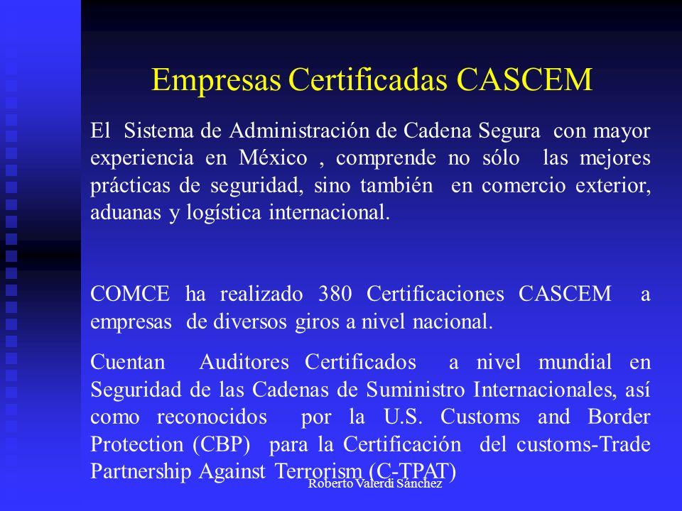 Empresas Certificadas CASCEM