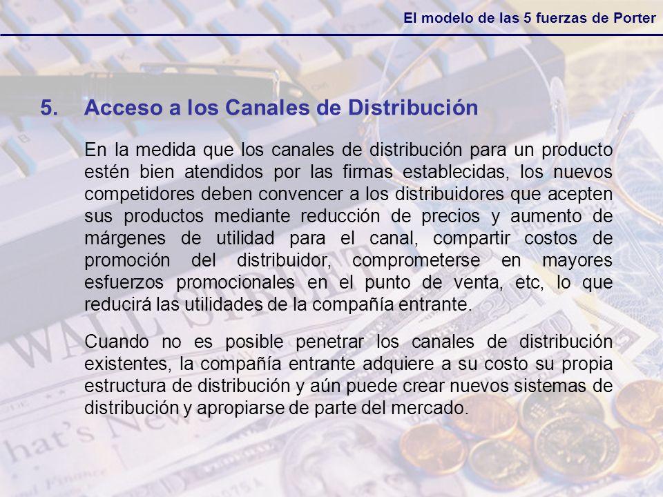 Acceso a los Canales de Distribución