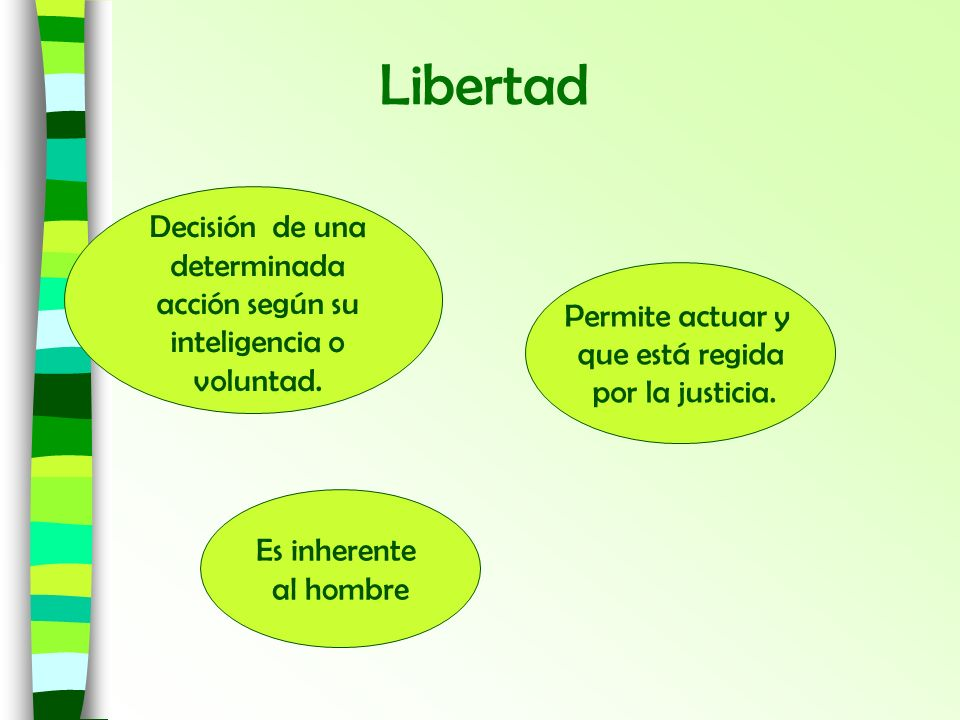 determinada acción según su inteligencia o voluntad.