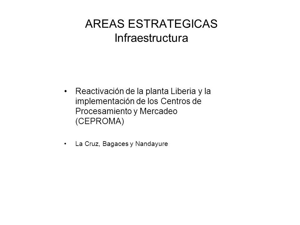 AREAS ESTRATEGICAS Infraestructura