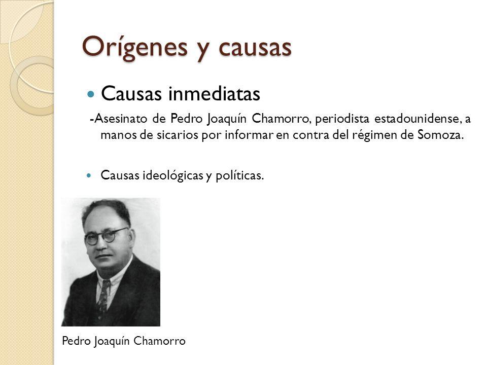 Orígenes y causas Causas inmediatas