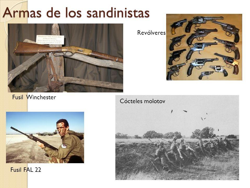 Armas de los sandinistas