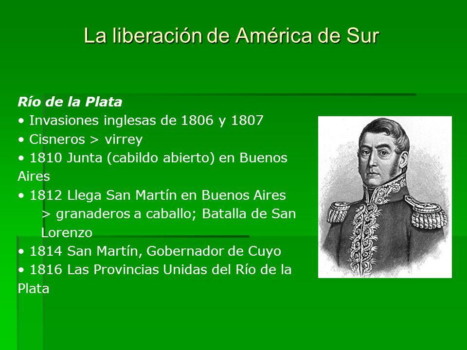 La liberación de América de Sur