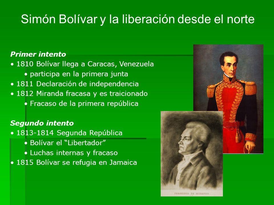 Simón Bolívar y la liberación desde el norte