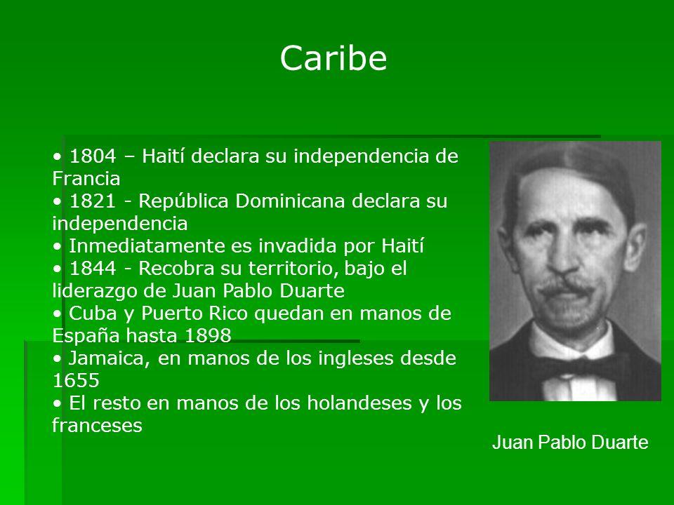Caribe 1804 – Haití declara su independencia de Francia