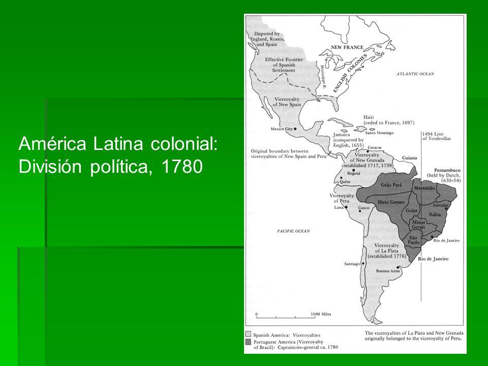 América Latina colonial:
